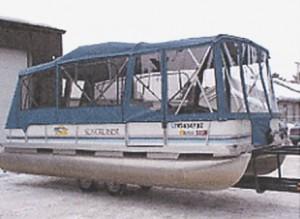 Half Pontoon Enclosure Used Pontoon Boats