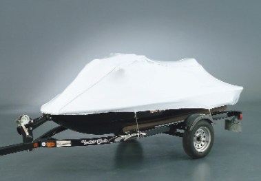 Outside Storage Boat Cover on a PWC Boat