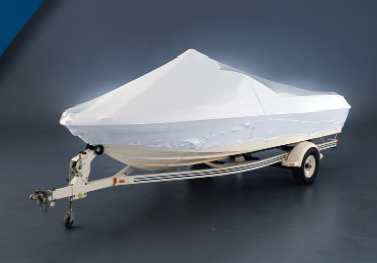 Outside Storage Boat Cover on a Runabout