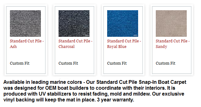 Boat Carpet Color Charts North American Waterway Blog