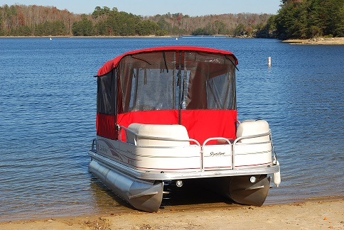 2008  SunTracker Party Barge 18FT-1