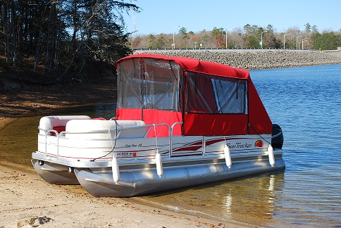 2008  SunTracker Party Barge 18FT-3