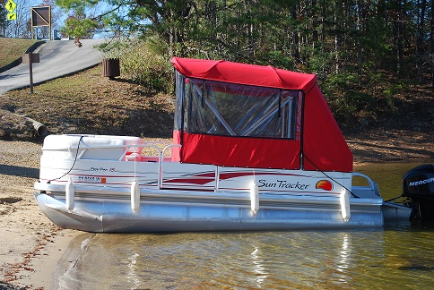 2008 SunTracker Party Barge 18FT Pontoon Testimonial ::
