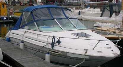 1999 Sea Ray 215 Express Boat Tops And Cockpit Cover