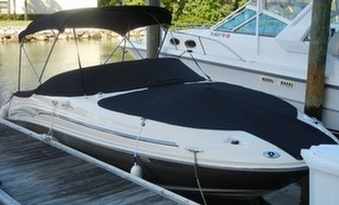 2005 Sea Ray 200 Sd Sun Deck Boat Tops And Cockpit Cover